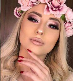 Cubana Chronicles - Living a healthy & successful life. - pink smokey eye makeup with light pink lips - Glam Makeup, Rose Gold Makeup, Bridal Makeup, Hair Makeup, Pink Wedding Makeup, Pink Lips Makeup, Fox Makeup, Barbie Makeup, Orange Makeup