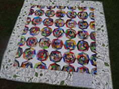https://flic.kr/p/hHogdJ | spiderweb quilt | for mary and ehab