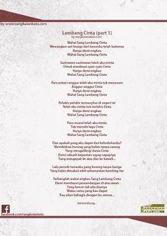 silakan menikmati : Puisi : Lambang Cinta (part 1) - Rangkaian Kata http://rangkaiankata.com/puisi-lambang-cinta-part-1/