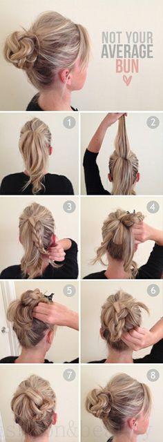 hair tutorials for long hair styles