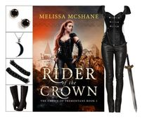 """""""Book Look: Rider of the Crown By Melissa McShane"""" by xmikky ❤ liked on Polyvore featuring Balmain, Kate Spade, Timberland and Carolina Glamour Collection"""