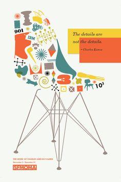 Valerie Miyasaki, Eames Poster Series on Behance Kids Bedroom Furniture, Art Deco Furniture, Furniture Layout, Colorful Furniture, Furniture Design, Furniture Brochure, Smart Furniture, French Furniture, Refurbished Furniture