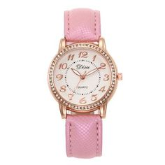 2018 Top Luxury Ladies Quartz Watch Women Brand Fashion Leather Watches High Quality Women Watches Reloj Mujer Relogio Feminino Simple Cheap Watches outfit accessories from Touchy Style store Cheap Watches For Men, Cute Watches, Vintage Watches, Stylish Watches, Watches Photography, Swiss Army Watches, Rose Gold Watches, Leather Watches, Quartz Watch