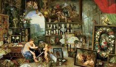 ヤン・ブリューゲル (子) (Jan Brueghel de Jonge)「Allegory of Sight」