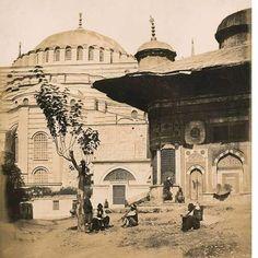 3.Ahmet Çeşmesi ve Aayasofya-1854