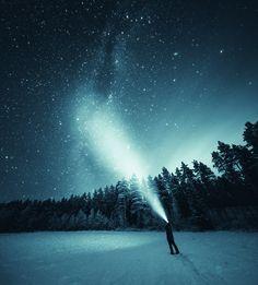 """查看此 @Behance 项目:""""Night Sky""""https://www.behance.net/gallery/33414647/Night-Sky"""