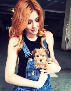 Kat and her pup Sophie