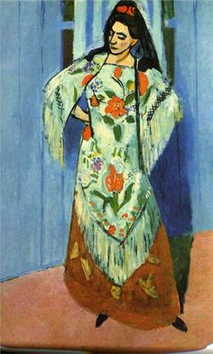 Henri Matisse ~ Manila Shawl, 1911