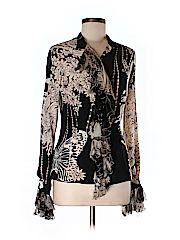 Check it out -- Roberto Cavalli Long Sleeve Silk Top for $144.99 on thredUP!   Love it? Use this link for $10 off. New customers only.