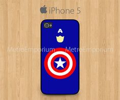 Captain America iPhone 5 Case The First Avenger by MetroEmporium, $15.79