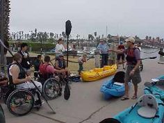 Adaptive Kayaking Program. Shows how limits can be shattered by those that want it bad enough!
