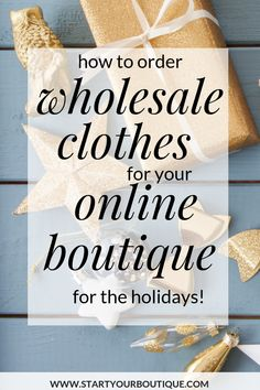When buying from wholesale suppliers be sure to schedule your inventory delivery to coincide with major buying seasons. Click through for everything else you'll need in order to buy wholesale products for your online boutique Diy Jewelry Findings, Jewelry Tools, Jewelry Supplies, Earn Money From Home, How To Make Money, Buying Wholesale, Wholesale Products, Starting An Online Boutique, Dropshipping Suppliers