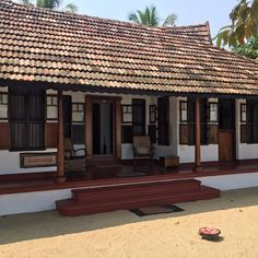 Build My Own House, My House, Farm House, Village House Design, Village Houses, Kerala Traditional House, Chettinad House, Kerala Houses, Indian Homes
