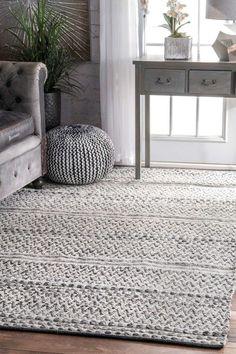 Cordell Silver Area Rug #livingroom #living #room #rugs #home #decor #designs #ideas