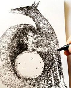 """""""Príncipe """" #artwork  #design  #lineart  #drawing #draw #tattoo  #tatuagem  #ink #iblackwork"""