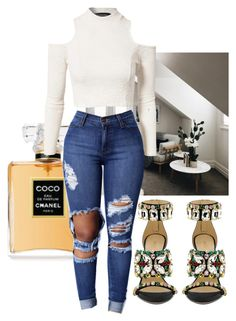 """""""Untitled #1143"""" by thinkcoco ❤ liked on Polyvore featuring GEDEBE and MINKPINK"""