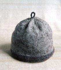 Garter Brim Baby Hat