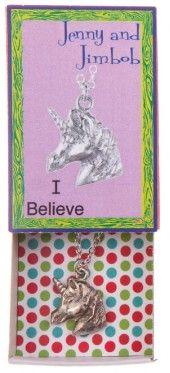 I Believe - Unicorn necklace