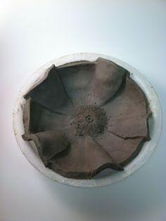 The Crayon Lab: Georgia O'Keeffe Flower Bowls