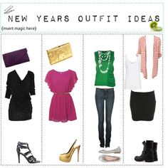 """""""New Years Or New Years Eve Outfit Ideas! ♥"""" by live4fashion525 on Polyvore"""