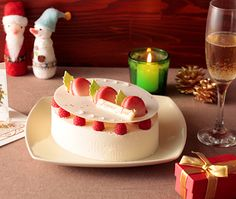 クリスマスケーキ 2010:子どもの頃に絵本で見たようなラブリー&スイートなケーキに夢中