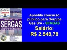 Apostila Concurso Público (SERGAS) Assistente Organizacional (Aracajú...