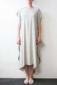 Strap Dress Grey  W/// by Weltenbuerger (Los Angeles / US)