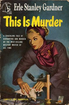 This is Murder (1949) by Book Covers: Mars Sci-Fi, Vintage Sexy Paperbacks, via Flickr