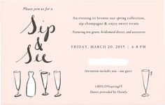 Join us for a Sip & See on 3/20/15 at our NYC store! Browse the #BHLDNspring15 collection, sip champagne, and eat sweet treats courtesy of Ovenly. Click through to RSVP #BHLDNues