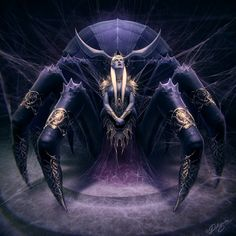 Lolth, goddess of the Drow and spider queen. Character from the D&D universe. - Nick Deligaris
