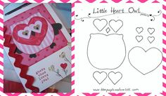 small cute painting templates | We Love Our Teachers! | Valentine's Day Bulletin Board