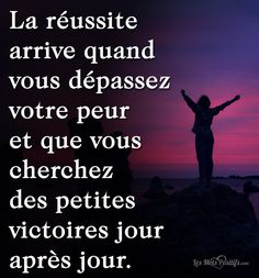 Positive Life, Positive Attitude, Positive Thoughts, Best Quotes Of All Time, Quote Of The Day, Word 2, Teaching French, Mo S, Positive Affirmations