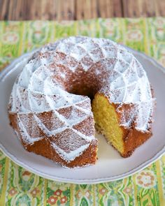 Orange Pound Cake | Plain Chicken - this one's a REAL winner - served it with strawberry sauce
