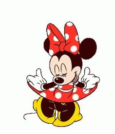 Minnie Mouse Animated Stickers by The Walt Disney Company (Japan) Ltd. Retro Disney, Disney Love, Disney Art, Walt Disney, Mickey Mouse Y Amigos, Minnie Mouse Pink, Mickey Mouse And Friends, Minnie Mouse Pictures, Disney Pictures