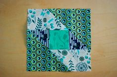 The Farmer�s Wife Quilt - Block One.