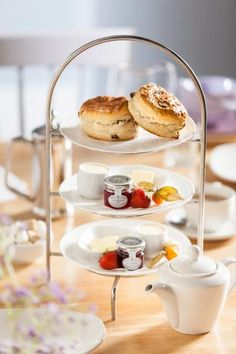 Cafetiere of fresh Filter Coffee or a pot of our House Tea? What will you have with this sumptuous Cream Tea? Cream Tea, Afternoon Tea, Scones, Filter, Food And Drink, Fresh, Coffee, Breakfast, House