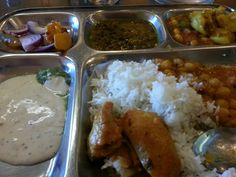 Lunch at Rajs in San Jose