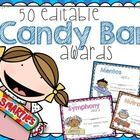 End of the Year Awards End of Year Awards OVER FIFTY Colorful EDITABLE End of the Year Candy Bar Superlative Awards for the End of School. I love this style of kids for the certificates and I think your kids will, too! Each candy bar was hand-drawn for End Of School Year, Sunday School, Middle School, Student Gifts, Teacher Gifts, Teacher Stuff, Candy Bar Awards, Fun Awards, End Of Year Activities