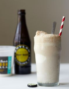 Bourbon Root Beer Float