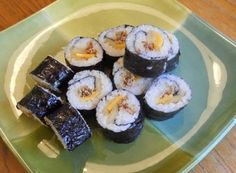 Cheese & Tuna Kimbap