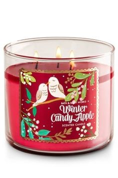 Bath and Body Works Winter Candy Apple 3 Wick Candlepackaging may vary * Be sure to check out this awesome product. (This is an affiliate link) #BathandBodyWorksCollection