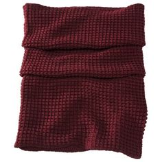 Oxblood textured snood - $14.99