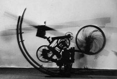 Jean Tinguely kinetic sculpture.