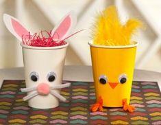Поделки к пасхе из стаканчиков - Сайт для мам малышей