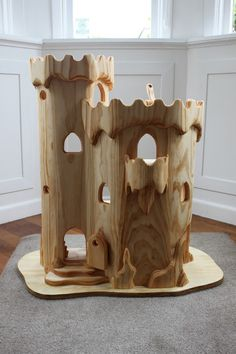 the elves and the wood botherer: Elf Castle + Spots