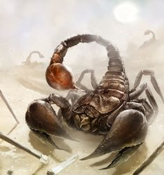 Giant Scorpion by laclillac.deviantart.com on @deviantART