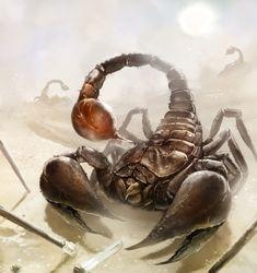 Giant Scorpion by laclillac.deviantart.com on @deviantART