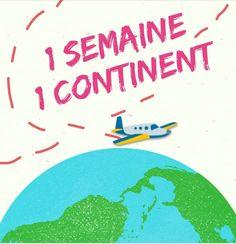 Projet tour du monde : Les 5 continents