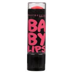 Maybelline Baby Lips Electro Lip Balm 95 Strike a Rose Baby Lips Maybelline, Maybelline Makeup, Cute Lipstick, Eyeshadow Designs, Makeup Starter Kit, Excuse Moi, Pink Mascara, Peach Eyeshadow, Beauty Makeup