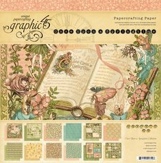 Once Upon a Springtime - a whimsical collection of fairies and storybook beauty! #graphic45